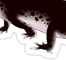 Black Knight Leopard Gecko Sticker
