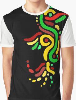 Cool Reggae Bird Graphic T-Shirt
