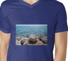 Coast at Lovrecica Mens V-Neck T-Shirt