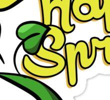 Happy Spring Sticker