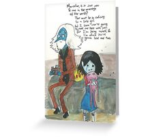 Simon and Marcy / Adventure Time Greeting Card
