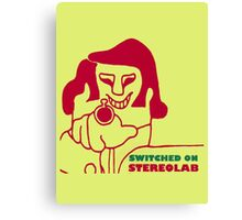 Switched On - Stereolab Canvas Print