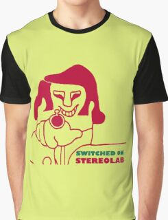 Switched On - Stereolab Graphic T-Shirt