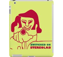 Switched On - Stereolab iPad Case/Skin