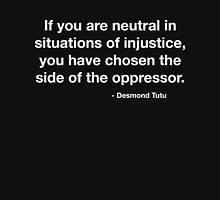 Desmond Tutu Oppressor Quote Unisex T-Shirt