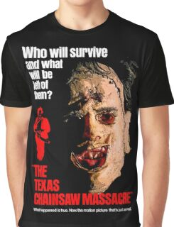 THE TEXAS CHAINSAW MASSACRE 1974 Graphic T-Shirt