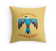 Thunderbird ~ Sacred Bearer of Happiness Throw Pillow