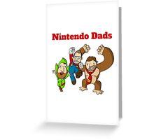 Nintendo Dads Greeting Card