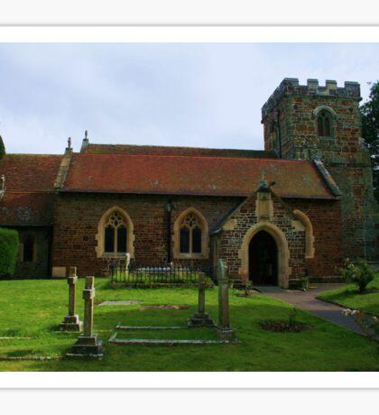 All Saints, Hampreston Sticker