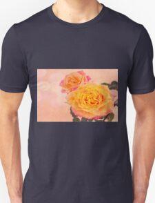 Bursting Of Beauty Orange Roses Unisex T-Shirt