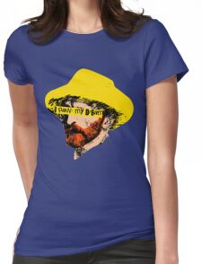 Vincent Van Pop Womens Fitted T-Shirt