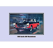 Classic British car 1959 Austin A99 Westminster Photographic Print