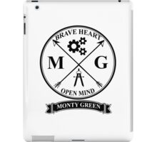 Monty Green Varsity Logo iPad Case/Skin
