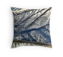 Southern spurs, Mount Bogong Throw Pillow