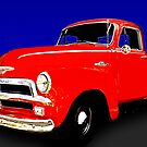 54 Chevy Pickup Acme of an Age by ChasSinklier
