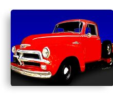 54 Chevy Pickup Acme of an Age Canvas Print