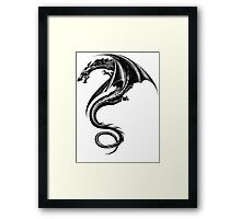 the girl with the dragon tattoo Tattoo Lisbeth salander Framed Print