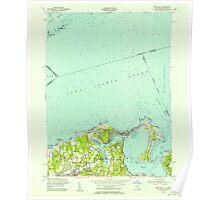 New York NY Bayville 123220 1954 24000 Poster