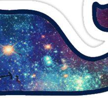 Galaxy Vineyard Vines Whale Sticker