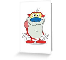 "Stimpson ""Stimpy"" J. Cat Greeting Card"