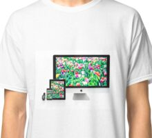 Multiscreen - Apple Watch, iPhone, iPad and iMac screens  Classic T-Shirt