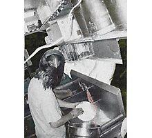 Dish Pit Photographic Print