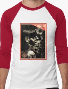 BISON Men's Baseball ¾ T-Shirt