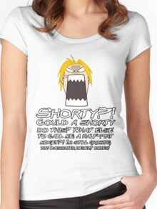 Edward Elric Full Metal Alchemist Shorty Women's Fitted Scoop T-Shirt