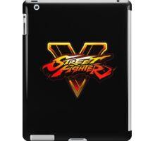 Street Fighter V logo iPad Case/Skin