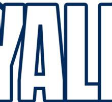 Yale Crew Oars Sticker