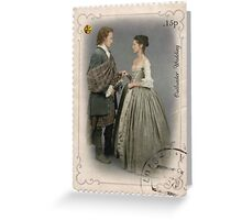 Outlander stamp/Outlander Wedding Greeting Card