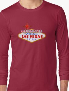 Welcome Las Vegas Shirt Long Sleeve T-Shirt