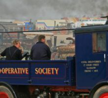 Co-op Coal Lorry Sticker