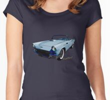 57 Thunderbird T-Shirt Women's Fitted Scoop T-Shirt