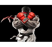 Ryu Street Fighter V artwork t-shirt Photographic Print