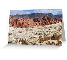 Nevada Desert Colors  Greeting Card