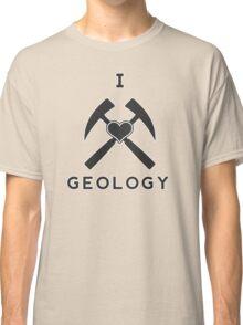 I Love Geology Classic T-Shirt