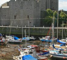 Castle Rushen Sticker
