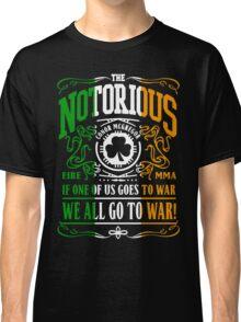 Conor Mcgregor - Go To War Classic T-Shirt