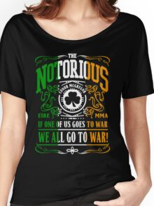 Conor Mcgregor - Go To War Women's Relaxed Fit T-Shirt