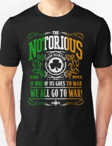 Conor Mcgregor - Go To War Unisex T-Shirt