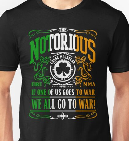 Conor Mcgregor - Go To War Unisex T-Shirt