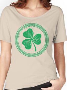 Clover & Braid - light green Women's Relaxed Fit T-Shirt