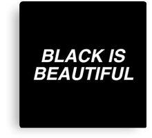 Black is Beautiful Canvas Print