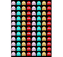 pac man ghost Photographic Print