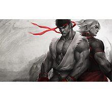 Ryu Ken Photographic Print