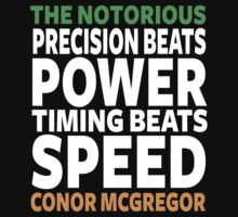 Conor Mcgregor Quote Kids Tee