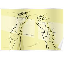 Sunlight on your sheets Poster