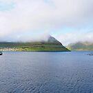 Klaksvig, Færøerne, by Aase