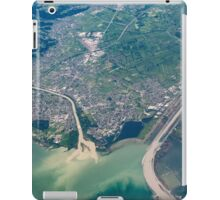Bregenz: River Rhine entering Lake Constance iPad Case/Skin